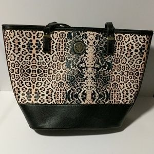 Ann Klein Animal Print Shoulder Bag